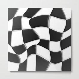 Black and White, No. 7 Metal Print