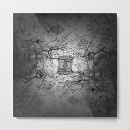 Who's to say edifice construction is instrinsical? Metal Print