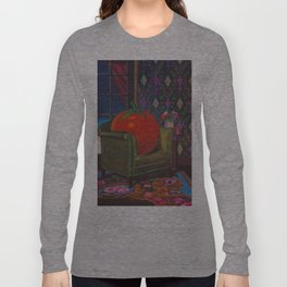 Therapy With A Tomato Milton Glaser - Tomato- Something unusual is going on here - 1978 Langarmshirt