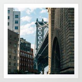Manhattan Bridge Art Print
