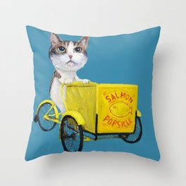 Ambition Tricycle Throw Pillow