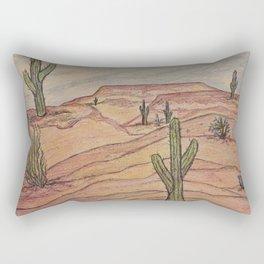 Saguaros in Arizona Rectangular Pillow