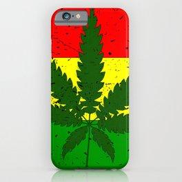Rastafarian Flag iPhone Case