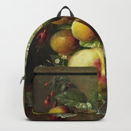 Still Life of a Fruit (1830-1862) by Willem Hekking Backpack