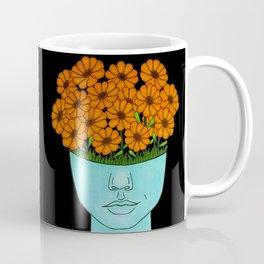 flowerhead flowerpot Coffee Mug