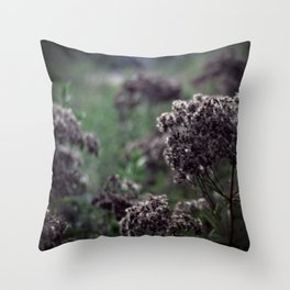 Dark Gardens Throw Pillow