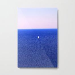 Tobermory Sailboat Metal Print