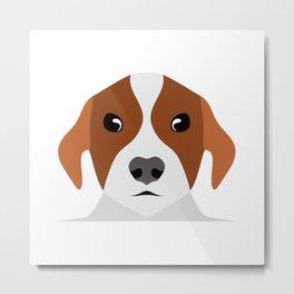 Pet face, cute dog #society6 #decor #buyart #artprint Metal Print