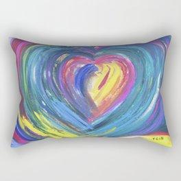 Heart by Sheila Fein Fantasy Pop Rectangular Pillow