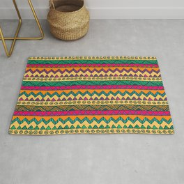 Summer Africa Tribal Pattern Rug