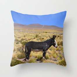 horse by Bruna Fiscuk Throw Pillow