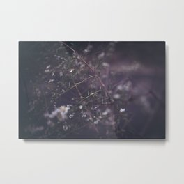 Beside the Abandoned Manor Metal Print