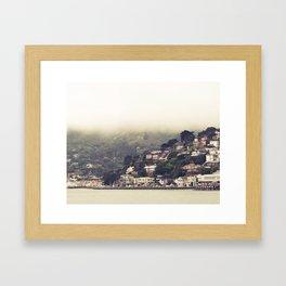 Sausalito Fog Framed Art Print