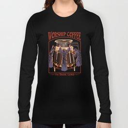 Worship Coffee Langarmshirt