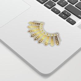 RBG Dissent Collar design Ruth Bader Ginsberg Fan Gift Tee Sticker