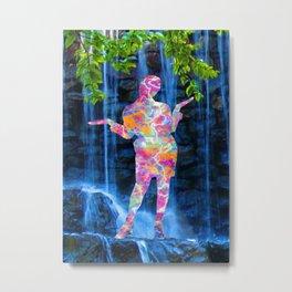 Dancing with Nature Metal Print