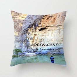 Solivagant Throw Pillow