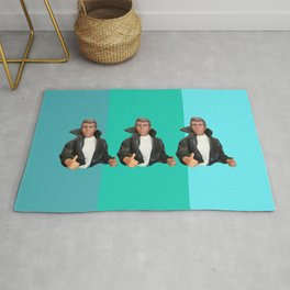 Cool Points - cool colors Rug