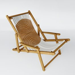 Abstract Flow Sling Chair