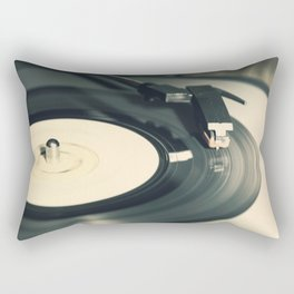 Vintage Vinyl Record 2 Rectangular Pillow