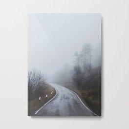 Scottish Backroads Metal Print