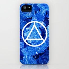 Sapphire Candy Gem iPhone Case