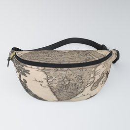 Map Of Africa 1737 Fanny Pack