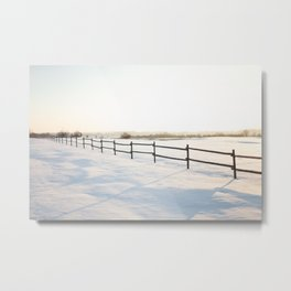 Winter haven Metal Print