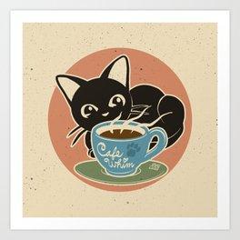 Cafe Whim Art Print
