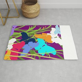 Butterfly Night Rug