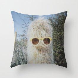 Cool Cactus Throw Pillow