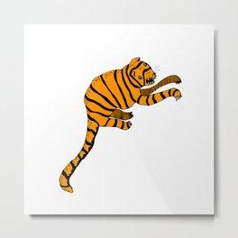 tigerr Metal Print