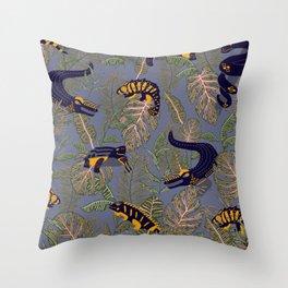 Reptilia Throw Pillow