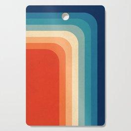 Retro 70s Color Palette III Cutting Board