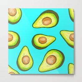Avocado Loveliness Metal Print