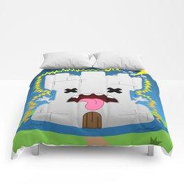 The Chibi Tarot - XVI The Tower Comforters
