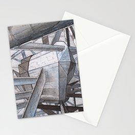 The Mnemoplex - nano carbone cristal based city Stationery Cards