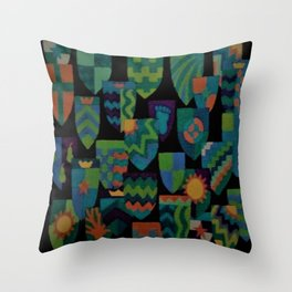 Shields of Dreams Throw Pillow