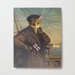 Jacques 'Chat'tier Metal Print