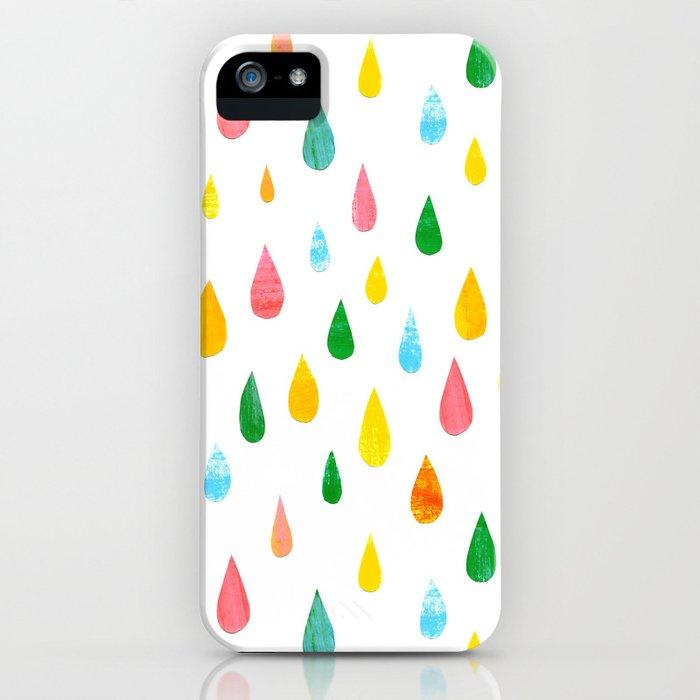 Happy Rain iPhone Case