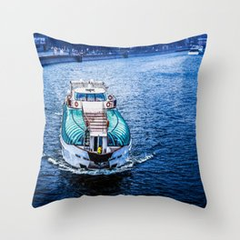 On The Right Track or Give a second glance :-) Throw Pillow