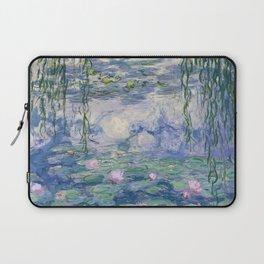 Water Lilies Claude Monet Fine Art Laptop Sleeve