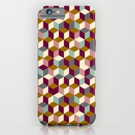 Cubic Pattern iPhone Case