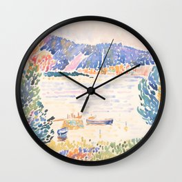Cap Nègre by Henri-Edmond Cross 1909, French Wall Clock