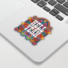 Hell Yeah Sticker