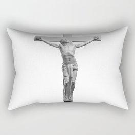 Jesus On The Cross Rectangular Pillow