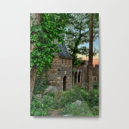Gatehouse in the evening Metal Print