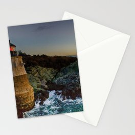 Castle Hill Lighthouse - Newport, Rhode Island Stationery Cards