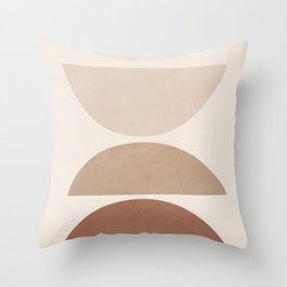 Minimal Shapes No.46 Throw Pillow