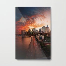 NEW YORK CITY IX Metal Print